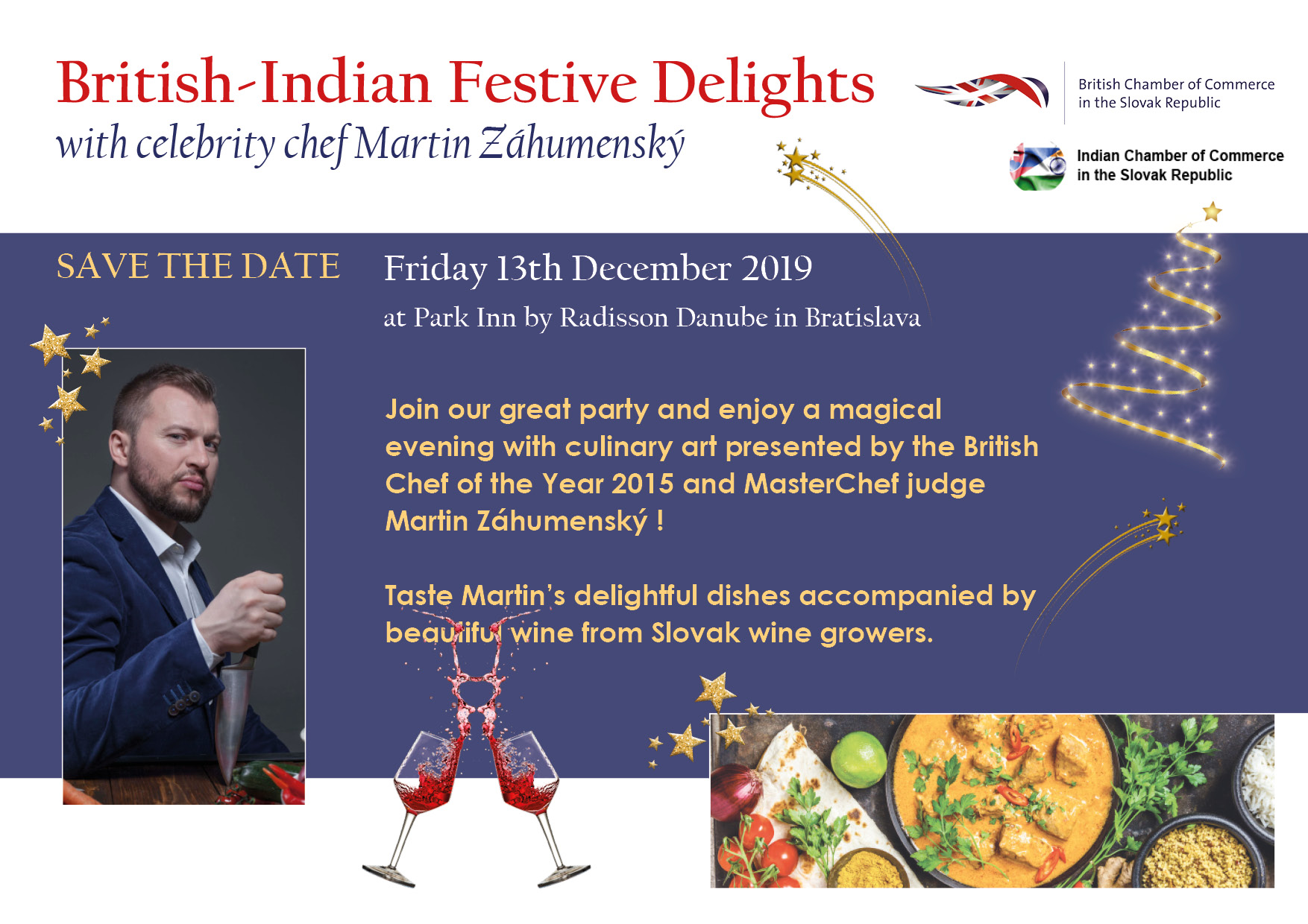 British Indian Festive delights Save the Date Final